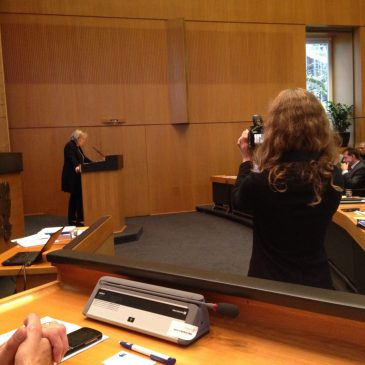 Mitgliederversammlung des Landesintegrationsrates NRW in Düsseldorf