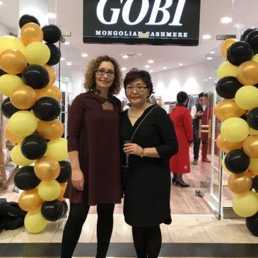 Eröffnung GOBI -Mongolian Cashmere