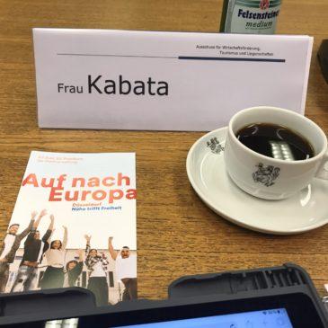Sitzung des Ausschusses für Wirtschaft, Tourismus und Liegenschaften