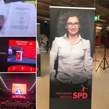 Vertreterversammlung der SPD Düsseldorf im ISS Dome