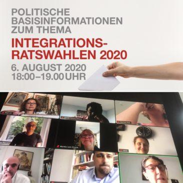 Onlineseminar zum Thema Integrationsratswahl