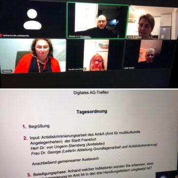 AK Antidiskriminierung und Vorstandssitzung von Mosaik e. V.