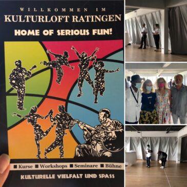 Eröffnung des Kulturlofts in Ratingen