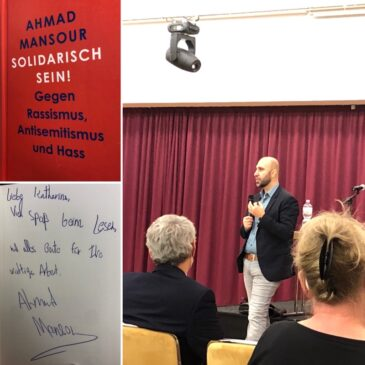 Lesung und Gespräch mit Ahmed Mansour
